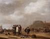 A Pair of beach scenes with fisherfolk - Willem Gillisz. Kool (1608/09-1666) - Willem Gillisz Kool