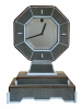 m255 Mystery clock with shagreen and bone