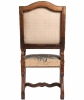 A Good Pair of Gobelin Upholstered Walnut Louis XIV Arm Chairs