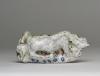 Hildo Krop, Ceramic sculpture of a reclining nude, ca. 1946-1950 - Hildo (H.L.) Krop