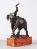 Elephant Bronze Statue