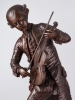 A French Bronze Statue of Mozart, circa 1880