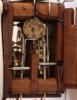 A small German 'Jockele' wall clock with alarm, circa 1860
