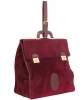 Les Must de Cartier Vintage Burgundy Suède Messenger Bag from the 'Orient Collection' - Cartier