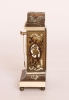 A miniature Austrian ivory and boulle 'zappler' timepiece, circa 1840