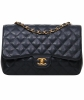 Chanel Classic Caviar Large Shoulder Bag