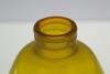 A.D. Copier, Leerdam Unica met extreem zeldzame kleurcombinatie geel en rood, 1926 - Andries Dirk (A.D.) Copier