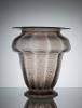 Chris Lebeau, Vaas met tincraquelé en optiek, Moser und Söhne Glasfabriek, 1927 - Chris (J.J.C.) Lebeau