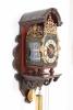 A rare Dutch Geldern polychrome wall clock, Spraekel, circa 1770