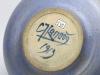 Chris Lanooy, Earthenware bowl with blue glaze, 1913 - Chris (C.J.) Lanooy