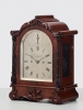 A beautiful small English mahogany 8-day bracket clock by Anderson, circa 1850