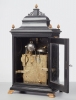 A superb ebonised musical animated English bracket clock by James Smith, circa 1780