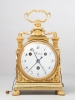 An imposing 8-day Swiss travelling clock, circa 1800
