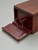 An early French mahogany music box by Ducommond Giraud, circa 1840