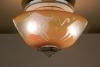Sybren Valkema voor Glasfabriek Leerdam, Glazen plafondlamp met een deel van de dierenriem, 1947 - Sybren Valkema