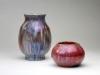 De Porceleyne Fles, Bolvormige vaas met Reflet Métallique, ca. 1900 - Aardewerkfabriek De Porceleyne Fles