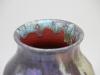 De Porceleyne Fles, Berbas vase, earthenware with polychrome metal glaze, ca. 1900 - Aardewerkfabriek De Porceleyne Fles