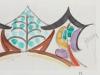 Mommie Schwarz, Schets nr. 59, waterverf en potlood op papier, jaren '20 - Mommie (S.L.) Schwarz