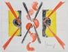 Mommie Schwarz, Schets nor. 22, waterverf, potlood en inkt op papier, jaren '20 - Mommie (S.L.) Schwarz