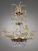 German Chandelier, Dresdner Spiegelmanufaktur