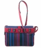 Delvaux Multicolor Toile De Cuir Shoulder Bag