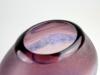 Alfredo Barbini, Grote paarse 'Scavo' vaas, Murano, ontwerp jaren '60 - Alfredo Barbini