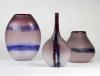 Alfredo Barbini, Elegant purple 'Scavo' bottle, Murano, design 1960s - Alfredo Barbini