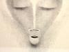 Bernard Richters, Litho of a face, 1920s - Bernard (B.J.) Richters