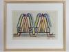 Mommie Schwarz, Schets nr. 36, waterverf, potlood en inkt op papier, jaren '20 - Mommie (S.L.) Schwarz