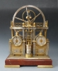 "Rare French industrial clock, a so-called ""Steam Pump"" machine, circa 1880."