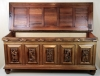 Hildo Krop, blanket chest for the wife of the artist, djati wood, 1948 - Hildo (H.L.) Krop