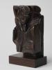 Hildo Krop, Unique wooden sculpture, Amsterdam School, 1926 - Hildo (H.L.) Krop