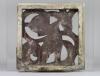 Hildo Krop for ESKAF, Stoneware tile with openwork decoration, 1921-1924 - Hildo (H.L.) Krop