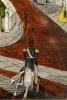 Een Amerikaanse mahonie 'ogee shelf' klok door Seth Thomas