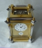 Very exclusive Giant carriage clock, grande sonnerie and alarm. Signed. Le Roy & Fils, Paris ca 1870.