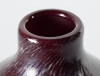 Chris Lanooy, Unique purple bottle vase, Glass Factory Leerdam, 1928 - Chris (C.J.) Lanooy