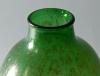 Chris Lanooy, Green bottle vase with golden decoration, ca. 1926 - Chris (C.J.) Lanooy