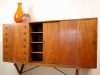 Hans Wegner, Teak and Oak Credenza, executed by Carl Hansen, model CH-304, 1950s - Hans J. Wegner