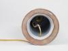 Marian Zawadzki for Tilgmans Keramik, Ceramic lamp socket with dear and leaves, ca. 1960 - Marian Zawadzki