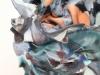 Babs Haenen, Vase 'Firebird', Porcelain with pigments and glaze, 2015 - Babs Haenen