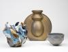 Babs Haenen, Vaas 'La resurrection automnale', Porselein met pigmenten en glazuur, 1996 - Babs Haenen