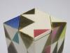 Pauline Wiertz, Ruitvormige dekseldoos met geometrische vlakken, 1979 - Pauline Wiertz