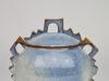 Harriet de Maar-Sielcken, decoratieve blauwe dekselpot, ca. 1989 - Harriet Sielcken