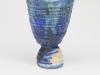 Johan van Loon, Blauw porseleinen vaasje, 1995 - Johan van Loon