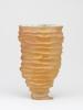 Johan van Loon, Keramische vaas met zandkleurig glazuur, 1991 - Johan van Loon
