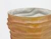 Johan van Loon, Ceramic vase with sand coloured glaze, 1991 - Johan van Loon