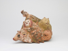 Heidi Daamen, Ceramic sculpture with human and animal figures, 1970s - Heidi Daamen - Meijer