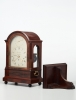 A fine mahogany London bracket clock by Brockbanks, circa 1830