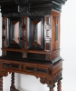 "A Rare Dutch XVIIth. Century Cabinet-on-Stand. A so-called   ""Kraamkamerkast"""