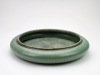 Arne Bang, Green glazed plate, 1950s - Arne Bang
